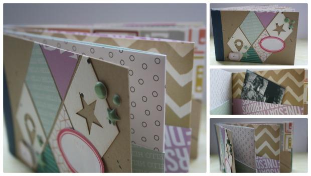 Fotobuch Laschen Collage