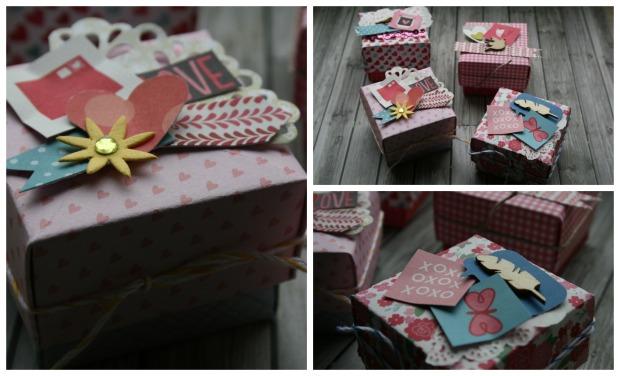 valentinsboxen Collage